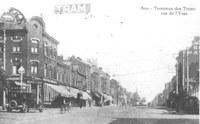 Terminus des trams - Rue de l'Yser