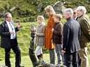 La visite privée de la famille royale, le 16 octobre 2014