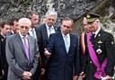 La visite du Roi Philippe, en 2014